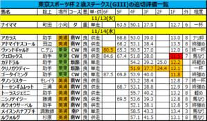 東京スポーツ杯2歳ステークス 2018 追い切り評価