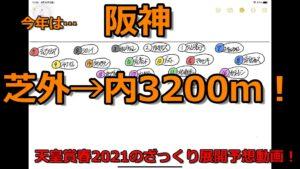 天皇賞春2021のざっくり展開予想動画!