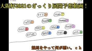大阪杯2021のざっくり展開予想動画!